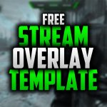 Free Twitch Overlay Template |  #47 |  Seangraphicx