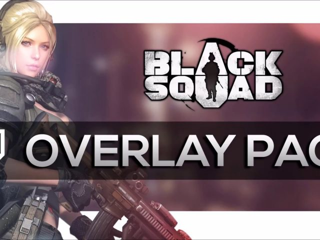 [FREE] Black Squad Overlay Package