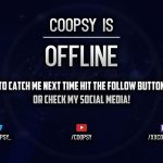 Making My Twitch Offline Screen- Photoshop Timelapse w/Coopsy