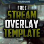 New free Twitch Overlay   Speedart #26   Seangraphicx