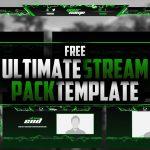 FREE Lightning Twitch Streampack | GFX | PSD | Seangraphicx