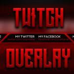 FREE Twitch Livestream Overlay | Photoshop CC