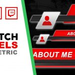 Twitch Panels | Geometric | Speed Art | FREE download | www.WDFLAT.com