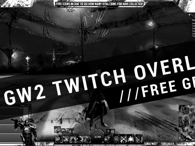 FREE TWITCH OVERLAY DOWNLOAD | GUILDWARS THEME