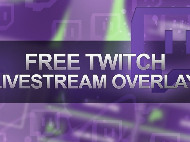 FREE LIVESTREAM OVERLAY FOR TWITCH