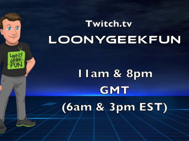 LoonyGeekFun Trailer Making Free Logos / Overlays / Banners & Intros on #twitch for FREE