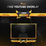 FREE GFX: Free Photoshop Video Overlay Template: Twitch, Gaming, Streaming Overlay Design Pack 2018