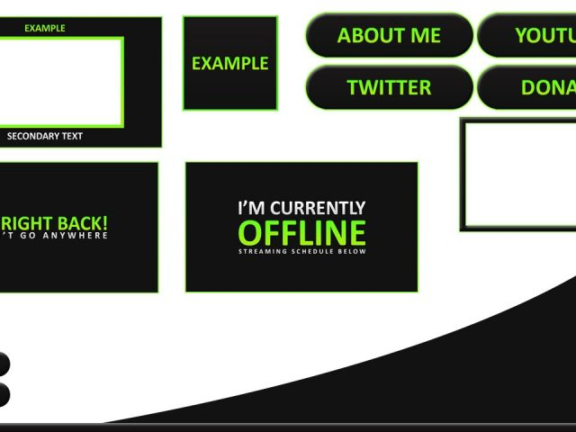 Twitch Graphics Template #2 – Twitch Re Brand | Free Download