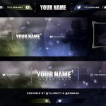 "Free Graphics: Twitch / Hitbox livestream template pack #5: ""CoD4"" – Photoshop by @YLLiBzify @nxmaan"