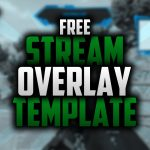 Free Twitch Overlay Template | Speedart #37