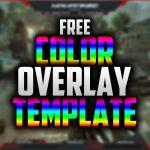 Free animate color Twitch Overlay | Speedart #23