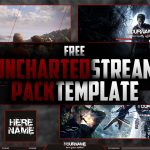 FREE Uncharted Stream Pack Template | Seangraphicx | Photoshop CC