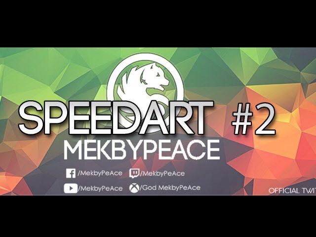 SpeedArt #2 | Twitch Banner – MekbyPeAce
