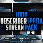 1000 Subscriber Twitch stream pack | FREE DOWNLOAD