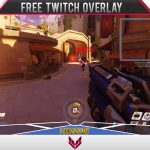 Overwatch Template [Free Twitch Overlay] #9