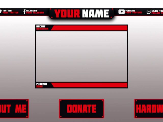 Free Twitch Template Pack