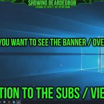 Twitch Banner or YouTube Banner Should I Have One? Twitch Overlay or YouTube Overlay Poll