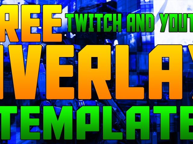 Twitch & YouTube Corner Overlay Template! Photoshop Tutorial + FREE Download!