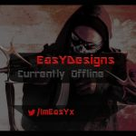 EasYDesigns | Twitch 'Currently Offline' overlay + Free download | 2016
