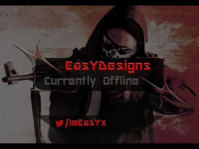 EasYDesigns   Twitch 'Currently Offline' overlay + Free download   2016