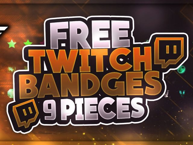 Free Twitch Subscriber Bandges | +Premium Version | GFX | Seangraphicx