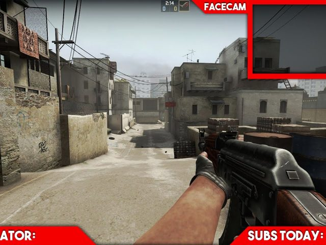 Simple Twitch Overlay Template 3 – Free Photoshop Download