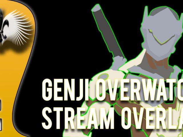 Overwatch – Genji Stream Twitch Overlay Free Download PSD (SpeedArt)