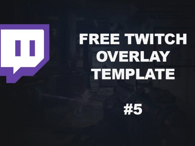 Free Twitch Overlay Template Download PSD #5