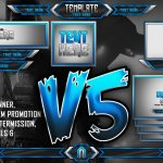 Ultimate Customizable Twitch Live Stream Template Pack V5 – Photoshop Template