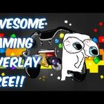 How To Create Your Own Gaming Overlay For Free (YouTube/Twitch) !!  Professional Overlay Free 2017