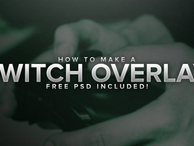 How to Make a Clean Twitch Overlay (Photoshop, FREE PSD)