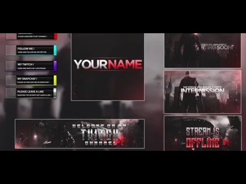 The Division – Free Twitch Stream Template Pack | Download Link (2016)