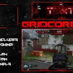 """Blood Red"" Free GFX Overlay, Facecam, Twitch/HitBox Info Panels Template GFX Pack"