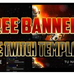 PACK EDITABLE PARA TWITCH, YOUTUBE, TWITTER, FACEBOOK + CHAT TWITCH / FREE TWITCH TEMPLATE PACK