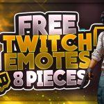 Free PUBG Twitch Emotes | +Premium Version | GFX | Seangraphicx