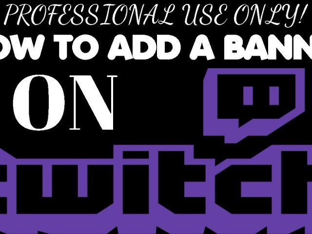 NEW! How to Add a Banner to Twitch!