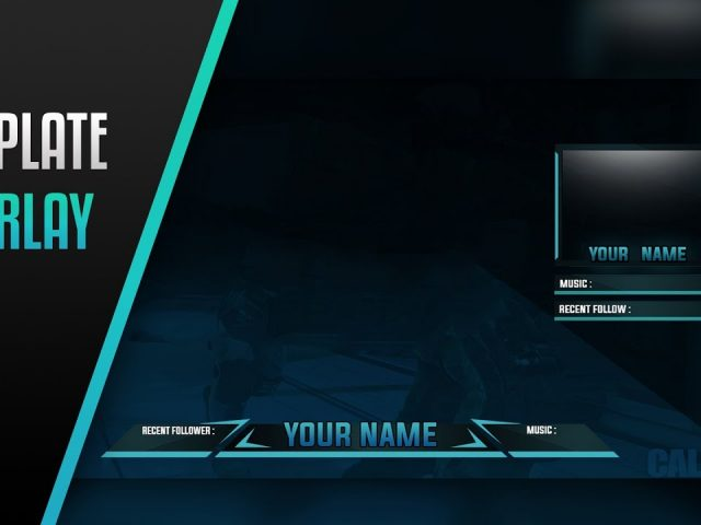 FREE Twitch Overlay Template – By HasherArtz