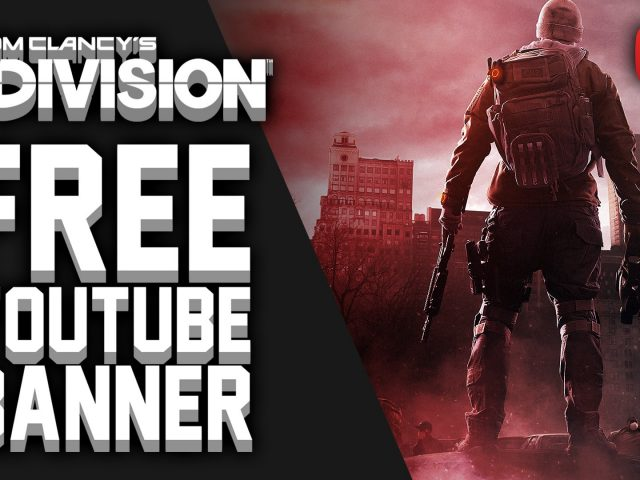Free Youtube Banner – The Division