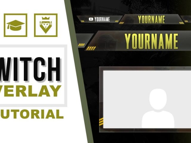 Twitch Overlays – Rainbow Six Siege | FREE TEMPLATE (TUTORIAL – how to edit)
