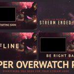 Overwatch Reaper Twitch stream pack