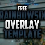 Free Twitch Overlay for Rainbow Six Siege | Speedart #34