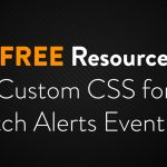 Twitch Alerts Event List Custom CSS – Free Resource