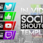 Free In Video Social Shoutouts Pack | Template | Subscribe, Like, Twitter, Twitch and MORE!