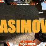 Twitch TV Free Stream Overlay (ASIMOV) to CS:GO + PSD #5