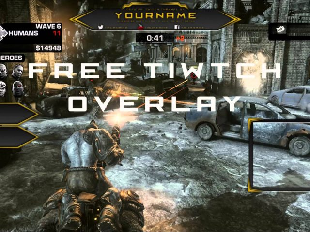 Twitch Overlay Banner Template Free PSD 2015 [HD] #6