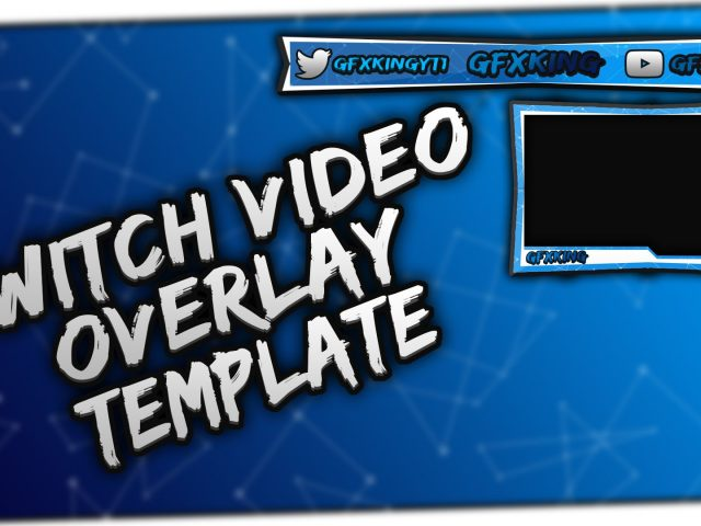 Free Twitch Overlay Template PSD + Direct Download Link – [NEW 2016]