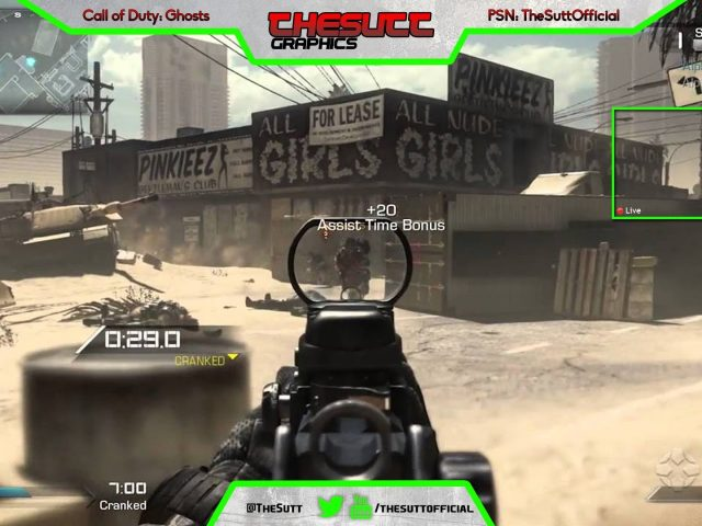Twitch TV Stream Overlay Template // #3 // [FREE DOWNLOAD] [PSD]