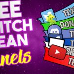 FREE Twitch clean panels templates photoshop ! 2018