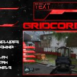 """""""Neon"""" Red Twitch Overlay, Facecam & Information Panels Free Download Template"""