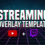 FREE Twitch/Youtube/Hitbox Stream Overlay Template 2017 (Photoshop) (CC-CS6) (Clean)